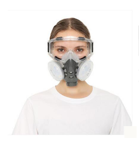 Health Care Precise Dusk Masks Anti Dust Respirator Filter Mask Pm2.5 Protective Breather Valve Facepiece Painting Spraying Industrial Pesticide