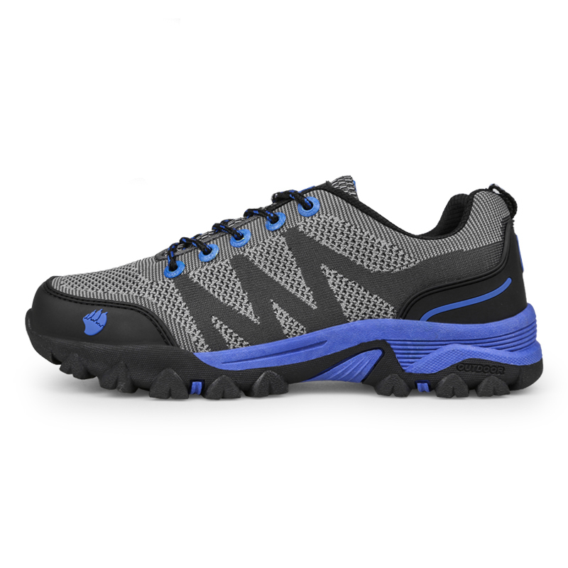 ФОТО 2016 Hiking Shoes Men Outdoor Sport Sneakers Mesh Breathable Trecking Shoes Mens Mountain Boots Spring/Autumn Hiking Trainers