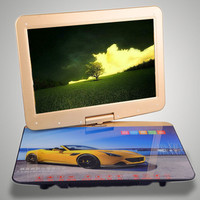 22 inch mobiele draagbare dvd/vcd/evd speler lcd touchscreen tv/ontvanger Home/Outdoor/Stage party 3D effecten Game consoles