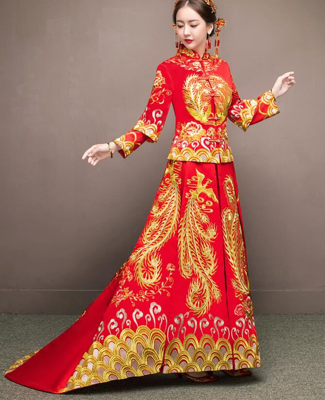 high quality women Dresses chinese style DC741