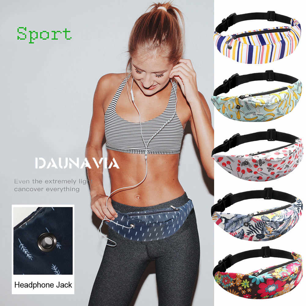Women Waist bag 3D print Colorful Belt bag Waterproof Travel Pack Fanny Waist Pack Phone Pouch sports bag for women bolso mujer