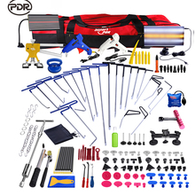 PDR Hooks Push Rod Dent Removal Paintless Dent Repair Tools LED Lamp Reflector Board Dent Puller