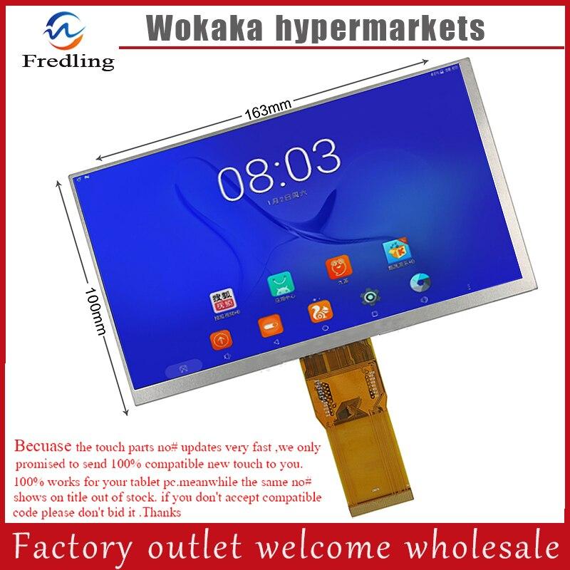 Nouveau LCD Affichage Matrice Pour 7 texet x-pad Navi 7 3G TM-7059 Tablet Intérieure LCD Écran Module de Panneau de Remplacement Livraison Gratuite