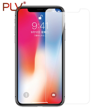 PLV Screen Protector Premium Tempered Glass For iphone X 8 8 Plus Glass For iphone 6 7 6s Plus 5 5s 4 protective glass