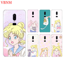 Sailor Moon Girl Gift Funny Fit Mobile Back Case For Oneplus 6 6T 7 3 3T 5 5T Plus Art Patterned Customized Cover Coque Cases