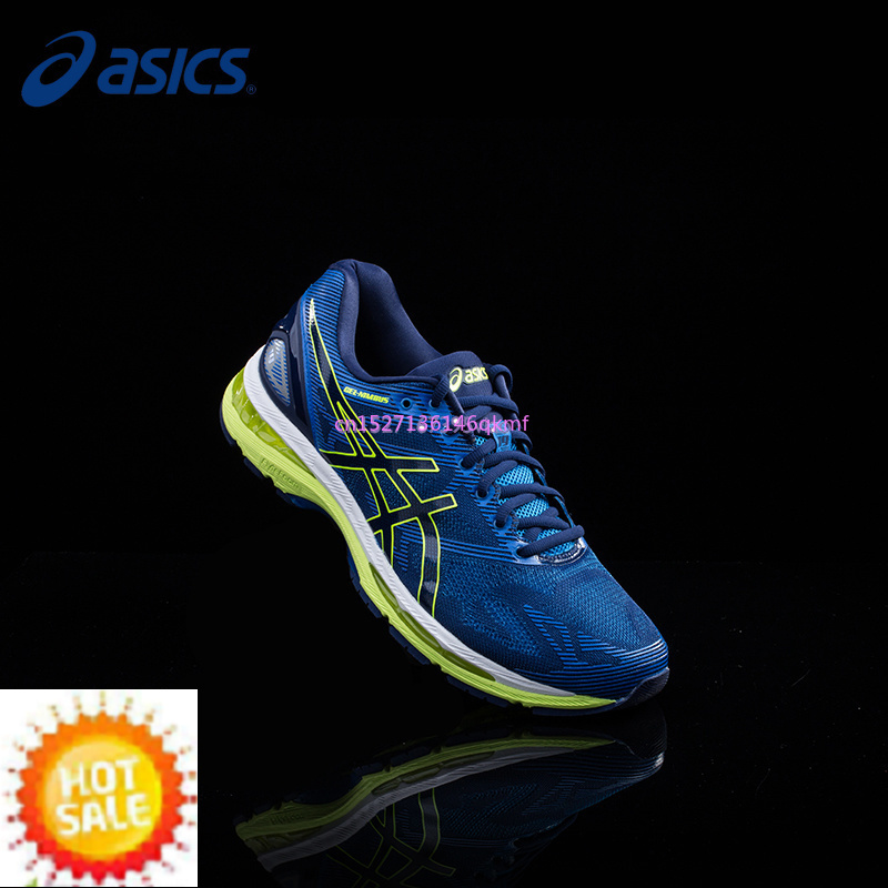 reputable site 8d228 c6f91 US $53.68 9% OFF|Men's Shoes Original Authentic ASICS GEL NIMBUS 19 Cushion  Light Running Shoes Breathable Sneakers Sports Outdoor Leisure shoes-in ...