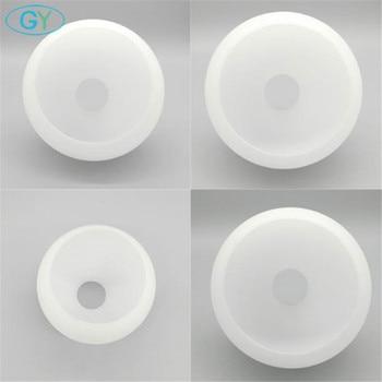 цена на White globe glass lamp shade E27 milky glass shade part lighting accessory E27 lamp holder for pendant table lighting chandelier