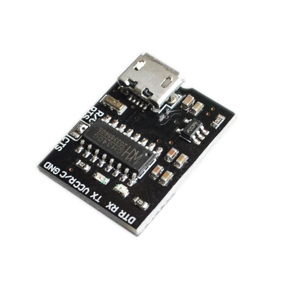 For WEMOS CH340G CH340 Breakout 5V 3.3V Micro USB to Serial Module Board For Arduino Downloader Pro Mini