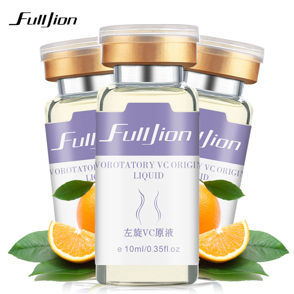Fulljion Vitamin C Facial Essence Original Liquid Remove Acne Moisturzing Anti-wrinkle Essence Whitening For Face Repair Care
