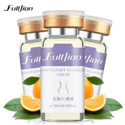 Fulljion Vitamina C Facial Moisturzing Anti-rugas Essência Essência Líquido Original Remover Acne Reparação de Clareamento Para O Rosto Cuidados