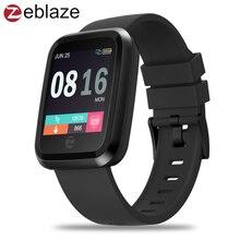 Zeblaze Кристалл 2 Smartwatch IP67 Водонепроницаемый Носимых устройств монитор сердечного ритма Цвет Дисплей Смарт часы для Android/IOS