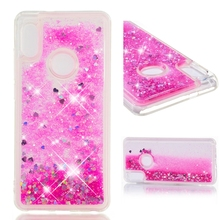 phone cover case for huawei p20 lite pro p10 Liquid quicksand protective sheath back coque funda