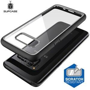 Image 2 - SUPCASE Samsung Galaxy S8 kılıfı UB stil Premium hibrid koruyucu İnce temizle kılıf TPU tampon + PC arka kapak için S8 kılıfı