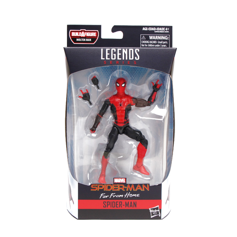 Image 5 - 14.5 17cm Marvel Legends Series Spider Man Far From Home Action Figure Demogoblin Hydro Man Collectible Model Avengers Toys-in Action & Toy Figures from Toys & Hobbies