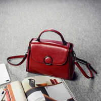 100% Genuine Leather Handbags 2019 New Arrival Cowhide Women Messenger Bags Leather Bag Female Cross-body Bag Ladies Tote Bolsos