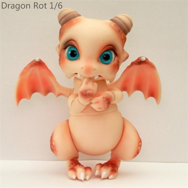 Aileendoll Dragon Rot ver 2 bjd sd dolls 1 6 body model girls boys eyes High