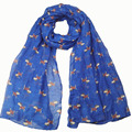 Lovely Animal Dachshund Hat Pattern Viscose Shawl Scarf 2017 Ladies Fashion Echarpe Foulard Femme Wrap Snood Muslim Hijab Sjaal