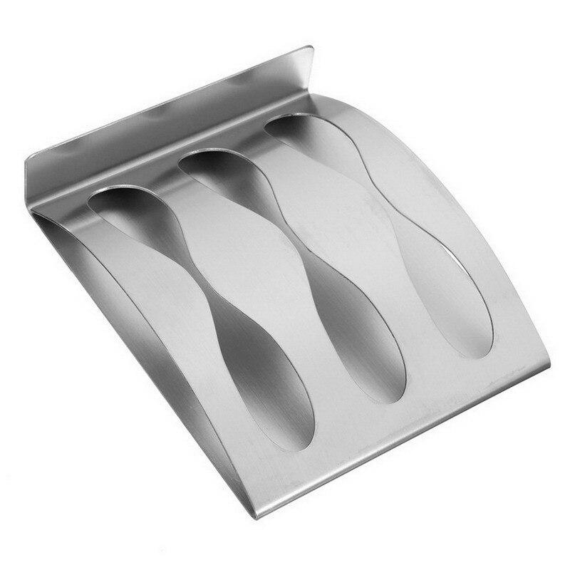 Position Self Adhesive Tooth Brush Organizer Box Bathroom