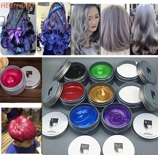 120g Unisex Χρώμα μαλλιών Wax Λάσπη Μαλλιά - Περιποίηση και στυλ μαλλιών - Φωτογραφία 1