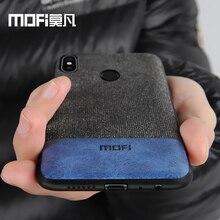 Xiaomi Redmi Note 5 case cover note5 Global Version back cover silicone edge fabric case coque MOFi Redmi note 5 pro case