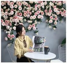 Artificial Silk Rose Flower Wisteria Vine Rattan Hanging Flower Garland for Wedd