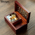 Bevigac Mini Vintage Clockwork Music Box Musical Toy with Melody of Castle In The Sky Gift For Christmas Birthday Valentine's