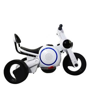 YEMELYA Tricycle Children Electric Motorcycle Ride On Car