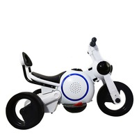 Child Electric Motorcycle Tricycle Dog RechargeableToy Children Electric Motorcycle Foot Ride On Car
