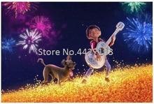 Diamond Painting Cartoon Skeleton kids Guitar coco Cross Stitch 5D Mosaic dog Needlework Painting Diy Diamond Embroidery цена 2017