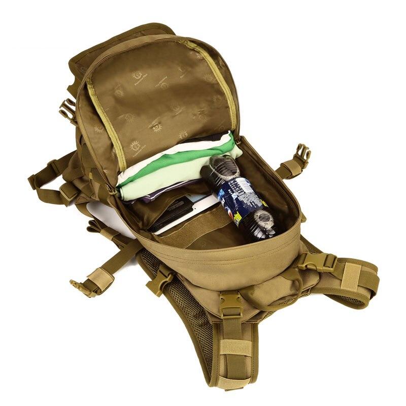 Протектор Плюс тактическое снаряжение комбо комплект водонепроницаемый военный Molle Мужской Открытый Путешествия Спортивный Рюкзак Molle маленькие сумки штук - 5