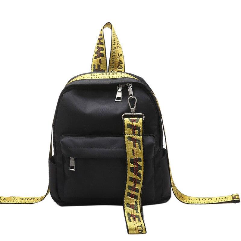 Fashion Mini Backpack Female,leisure Small Women Backpack,girls Korean Style Nylon Women Bag,school Book Bag,mochilas Mujer 2019