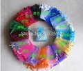 JLKFG l!Wholesale Organza Bag 7x9cm,Wedding Jewelry Packaging Pouches,Nice Gift Bags,Mix Colors,100pcs/lot