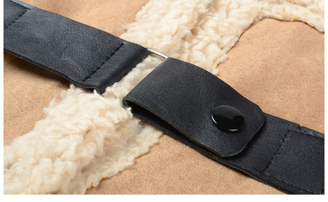 Neck Warmer Leather Buckle | Neck Scarves