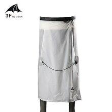 3F UL GEAR 15D нейлоновое силиконовое покрытие для кемпинга, походов, дождевых штанов, легкая водонепроницаемая юбка от дождя