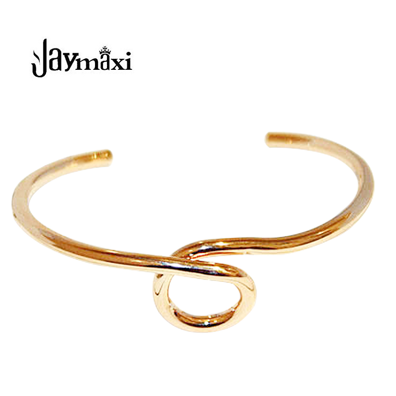 Jaymaxi Gold-color Bracelet New Fashion Europe And The United States Exquisite Simple Temperament Bracelet Women B51551