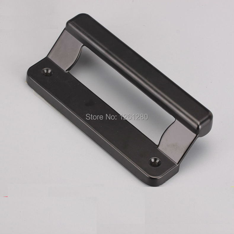 free shipping black knob plastic steel sliding door handle aluminum alloy door window pull household furniture hardware part