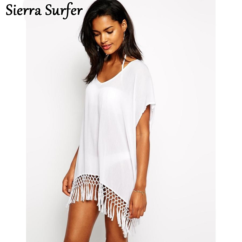 The Cheapest Price Beachwear Bikini Shirt Tassels Cover Chiffon Cardigan Stamp Wrap Skirt Sunscreen Veil Coat Cangas De Praia Robe Plage Latest Fashion Sports & Entertainment