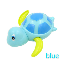 Cute Cartoon Animal Tortoise Classic Baby Water Toy Infant Swim Turtle  Chain Clockwork Kids swiming Bath Toys