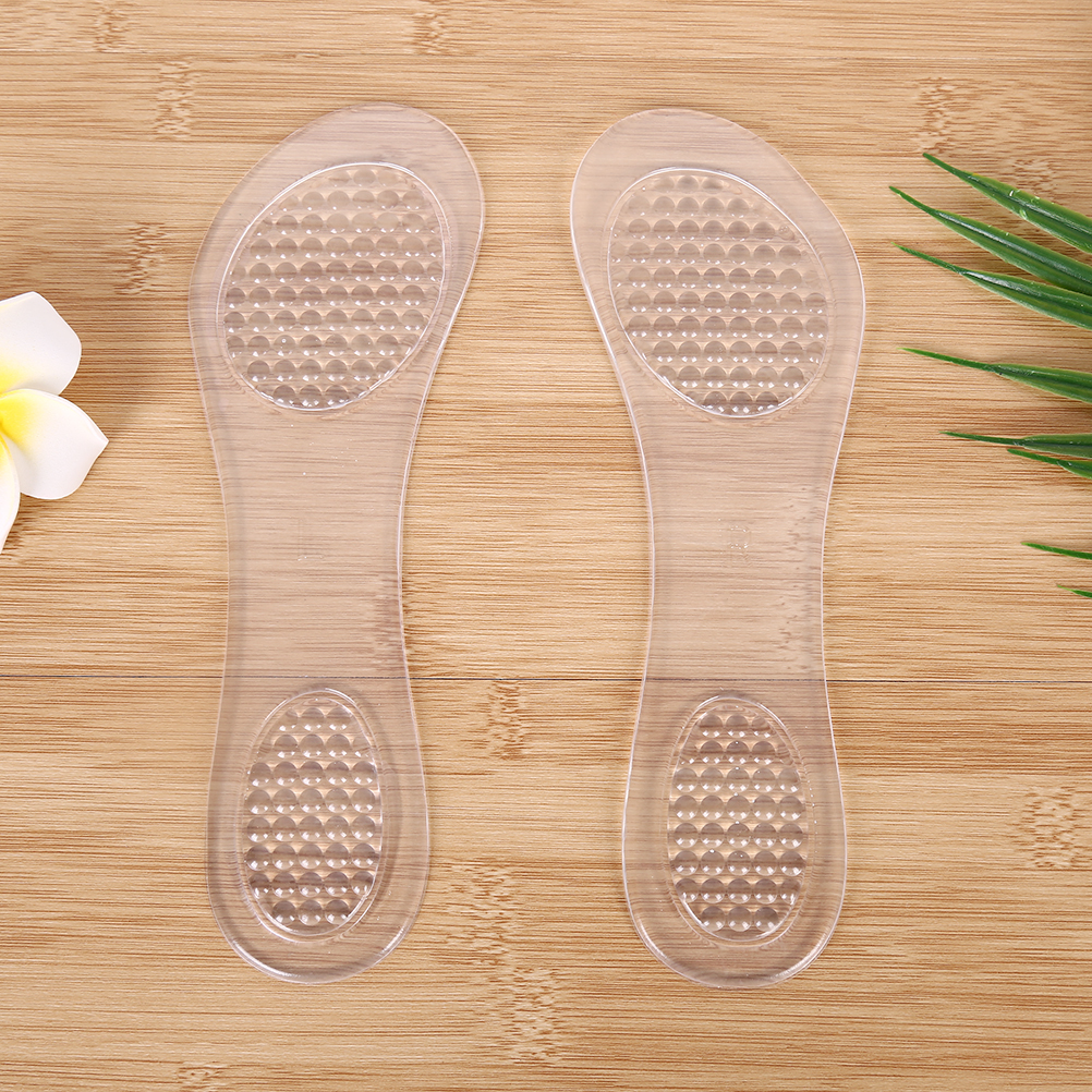 купить Insole Fit High Heel Shoes Sandals Anti Slip Foot Pad silicone gel arch support Insoles Inserts pads Dot Silicone Gel Cushion по цене 150.95 рублей