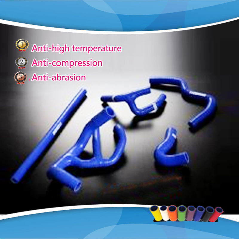 Silicone Radiator Hose Kits for Austin Rover Mini Cooper 1.3L 1990-2000  reinforced silicone radiator coolant hose for rover mini cooper s spi 1275 1 3l 1991 1996