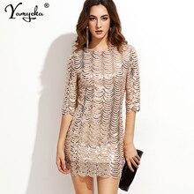 Сексуальное летнее платье с блестками черного, золотого и синего цвета, женское облегающее винтажное платье миди с запахом, элегантные платья для ночного клуба, одежда vestidos mujer