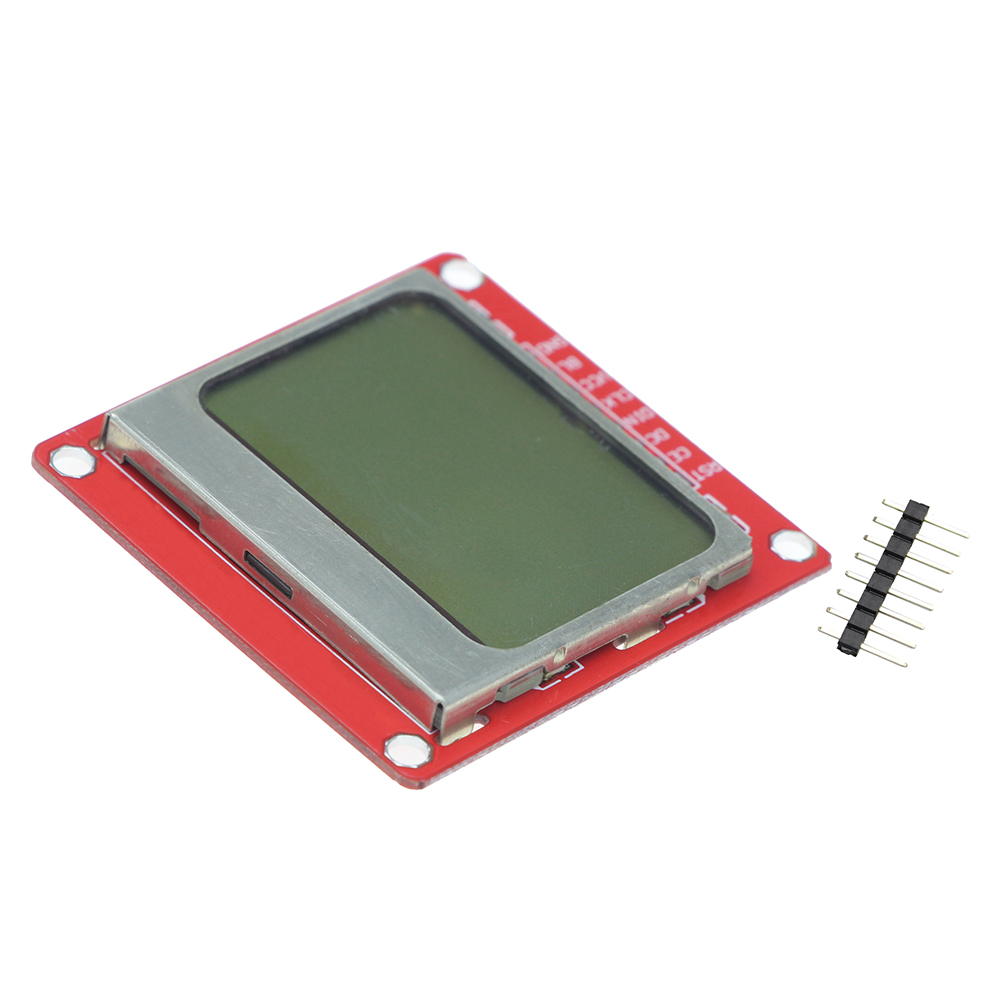 1pcs White Backlight 84*48 84x84 LCD Display Module Adapter PCB for Nokia 5110 for arduino DIY KIT цена