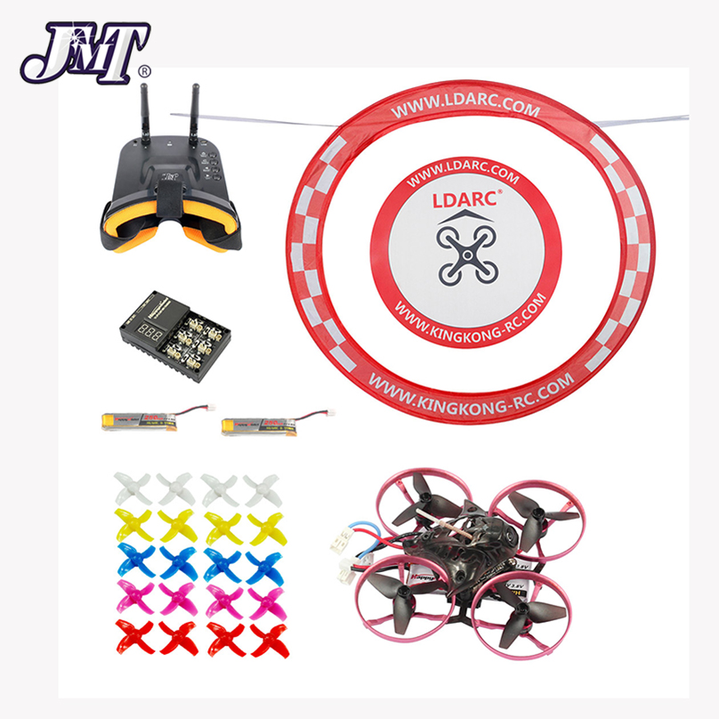 JMT 75MM Brushless Metal Frame FPV Racing Drone BNF With Crazybee F3 Pro Flight Control FPV