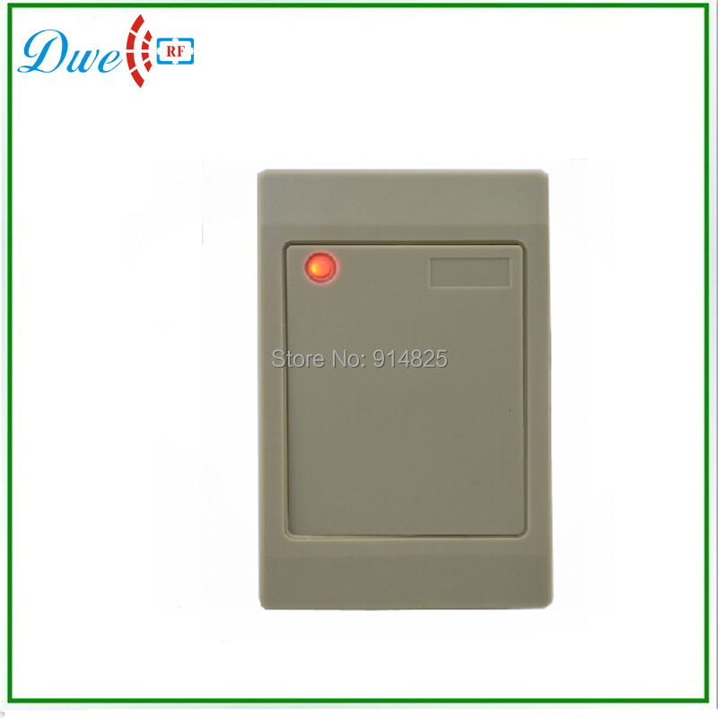 13.56mhz Hot sell! White color S50 S70 wiegand 26 bits access control door rfid reader. wiegand 26 input