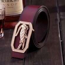 2016 famous strap Male brand designer men crocodile logo buckle belt high qualit big size cm belt luxury formal for mens belt