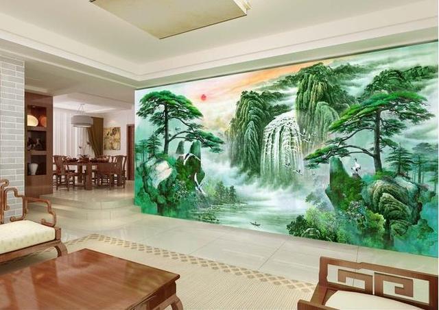 Living Room 3d Wallpaper 3d wallpaper tv background wallpaper the living room sofa backdrop