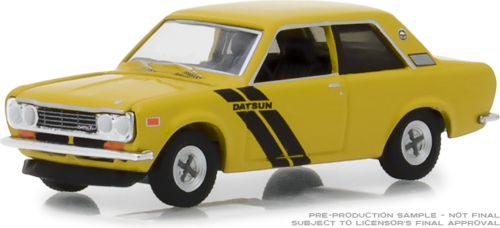 Gl 1: 64 Tokyo Torque 1972 Datsun 510 Trans-am Décor Paquet Alliage Modèle Voiture Moulé Sous Pression En Métal Jouets Cadeau D'anniversaire Pour Enfants Garçon