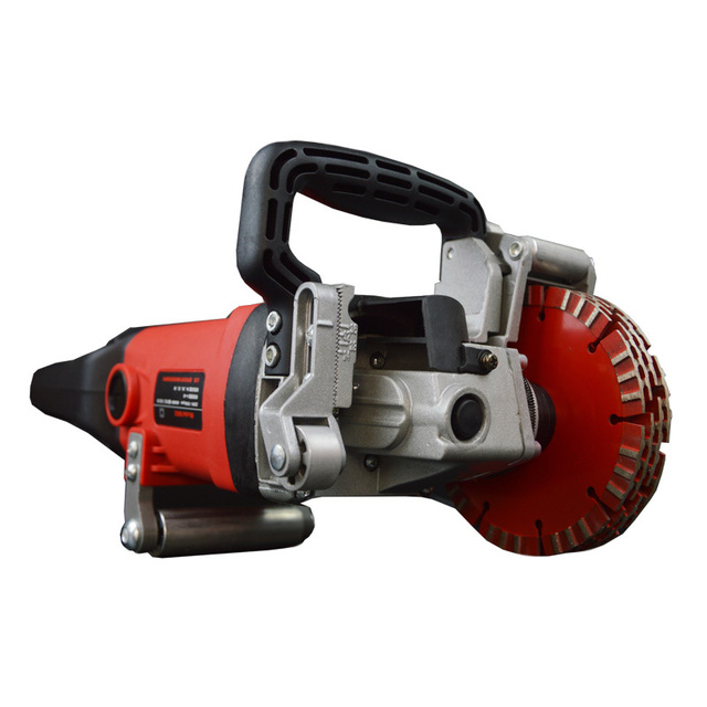 Professional 4900W Multifunction Wall Grooving Cutting Chasing Machine Brick Wall Stone Road Floor Cutting With 10 Pcs Blades