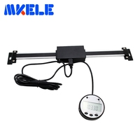 0 200mm Digital Scale Remote Digital DRO Table Readout Scale For Bridgeport Mill Lathe Linear Magnetic Digital Linear Scale