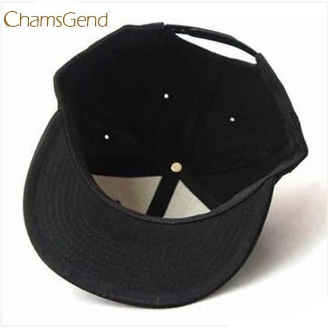 c4f527fa63c Baseball Cap Chamsgend Newly Design Black Blank Plain Snapback Hats Hip-Hop  Adjustable Bboy Hat